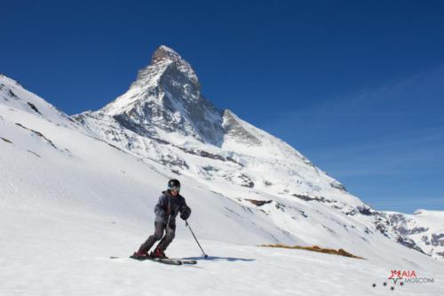 Boris a Zermatt