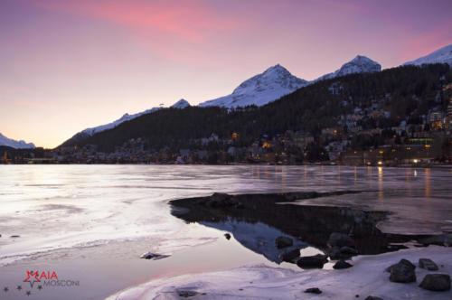 Tramonto a Sankt Moritz