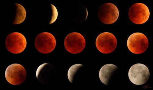 Eclissi totale di Luna 27 luglio 2018