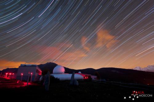 Saint Barthélemy (AO), notte all'osservatorio